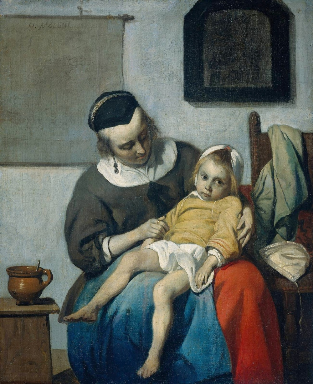 Metsu,_Gabriel_-_Sick_Child,_the[82].jpg